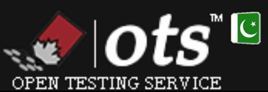 OTS Jobs www.ots.org.pk Open Testing Service Apply Online